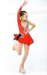 Xiangyun Gu of China competes during the Asian Junior Figure Skating Challenge Hong Kong 2016 at Kowloon Tong's Festival Walk Glacier on 03 October 2016, in Hong Kong, China. Photo by Marcio Machado / Power Sport Images