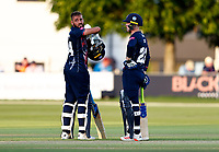 Jack Leaning and Jordan Cox of Kent during Kent Spitfires vs Middlesex, Vitality Blast T20 Cricket at The Spitfire Ground on 11th June 2021