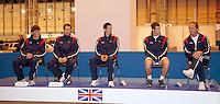 5-4-07, England, Birmingham, Tennis, Daviscup England-Netherlands, Brittish Team