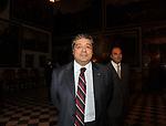 """TOTO CUFFARO<br /> PRESENTAZIONE LIBRO """" I ROCCALTA"""" DI EDVIGE SPAGNA<br /> PALAZZO TAVERNA ROMA 2008"""