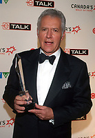 "08 November 2020 - Longtime ""Jeopardy!"" host Alex Trebek, died on Sunday at the age of 80 following a battle with pancreatic cancer. File Photo: 3 June 2006, Toronto, Ontario, Canada - Alex Trebek.  Alex Trebek (Inductee) at Canada's Walk of Fame Inductee Ceremony, Hummingbird Centre. Photo Credit: Brent Perniac/AdMedia"