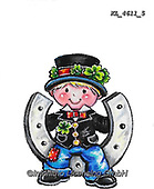 NY, paintings+++++,KL4611/5,#ny#, EVERYDAY ,sticker,stickers, new year's eve ,chimney sweeper