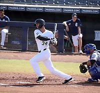 Jared Oliva - Peoria Javelinas - 2019 Arizona Fall League (Bill Mitchell)