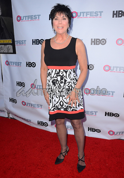 """11 July 2015 - West Hollywood, California - Joyce Dewitt. Arrivals for the 2015 Outfest Los Angeles LGBT Film Festival screening of """"Tab Hunter Confidential"""" held at The DGA Theater. Photo Credit: Birdie Thompson/AdMedia"""