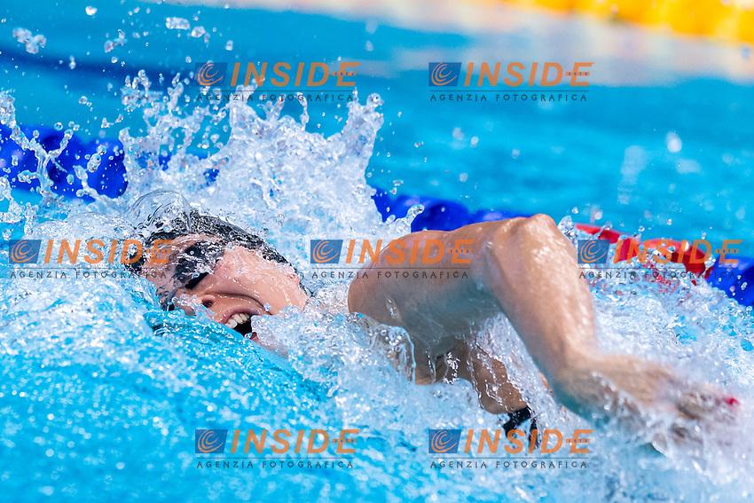 PIROZZI Stefania ITA<br /> 200m Freestyle Women Heats<br /> Swimming<br /> Budapest  - Hungary  19/5/2021<br /> Duna Arena<br /> XXXV LEN European Aquatic Championships<br /> Photo Giorgio Scala / Deepbluemedia / Insidefoto