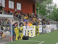 Lierse U16 - Standard de Liege U16 : meegereisde Lierse publiek.foto DAVID CATRY / Nikonpro.be