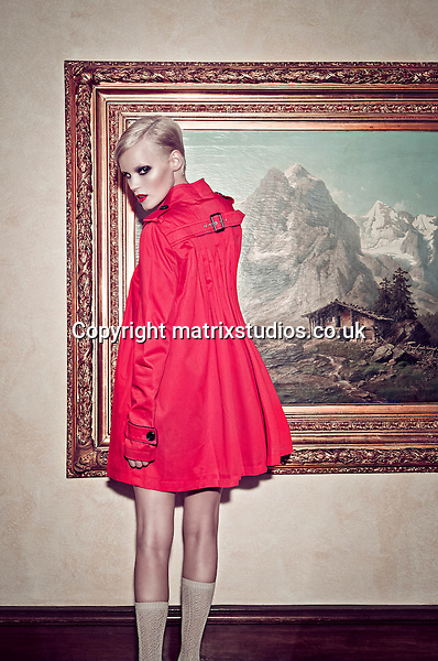 EXCLUSIVE PICTURE: MATRIXSTUDIOS.CO.UK.PLEASE CREDIT ALL USES..WORLD RIGHTS..***FEES TO BE AGREED BEFORE USE***..Fashion Model Christien Location Shoot. .REF: CKH 122303