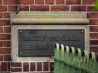 Martin und Clara Heimann Stift erbaut 1902+1912 von Krumbhaar, Hermann & Heubel, Martini-Str. 83 in Hamburg-Hoheluft-Ost, Deutschland, Europa<br /> Martin und Clara Heimann Stift built 1902+1912 by Krumbhaar, Hermann & Heubel, Martini-St. 83 in Hamburg-Hoheluft-Ost, Germany, Europe
