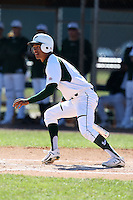 February 28, 2010:  Outfielder Junior Carlin of the South Florida University Bulls during the Big East/Big 10 Challenge at Raymond Naimoli Complex in St. Petersburg, FL.  Photo By Mike Janes/Four Seam Images