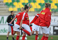 20190227 - LARNACA , CYPRUS : Austrian Sarah Zadrazil pictured during a women's soccer game between the Super Falcons of Nigeria and Austria , on Wednesday 27 February 2019 at the AEK Arena in Larnaca , Cyprus . This is the first game in group C for both teams during the Cyprus Womens Cup 2019 , a prestigious women soccer tournament as a preparation on the Uefa Women's Euro 2021 qualification duels. PHOTO SPORTPIX.BE | DAVID CATRY