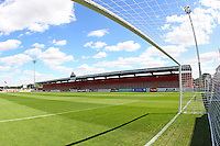 General view of the ground ahead of kick-off during Stevenage vs Crewe Alexandra, EFL League 2 Football at the Lamex Stadium on 6th August 2016