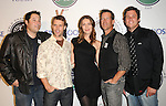Greg Grunberg,Jesse Spencer,James Denton & Bob Guiney at The 2009 Breeders' Cup Winners Circle Celebration held at ESPN Zone at L.A. Live in Los Angeles, California on November 05,2009                                                                   Copyright 2009 DVS / RockinExposures