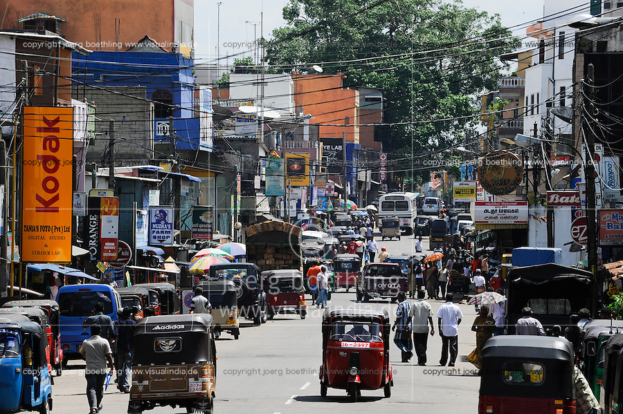 Sri Lanka Colombo, street traffic