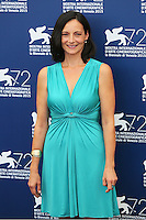 Corinna Lo Castro attends the photocall for the movie 'The Wait' during 72nd Venice Film Festival at the Palazzo Del Cinema, in Venice, Italy, September 5, 2015. <br /> UPDATE IMAGES PRESS/Stephen Richie