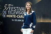 Caterina MURINO - Photocall 'DEEP MARE NOSTRUM' - 57EME FESTIVAL DE TELEVISION DE MONTE CARLO, Monaco, 17/06/2017.