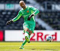 18th July 2021; Pride Park, Derby, East Midlands; Pre Season Friendly Football, Derby County versus Manchester United;   Manchester United goalkeeper Lee Grant