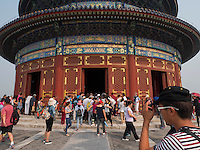 Halle des Ernteopfers-Qinian Dian im Himmelstempel Park, Peking, China, Asien, UNESCO-Weltkulturerbe<br /> Hall of prayer for good harvests, temple of Heaven, Beijing, China, Asia, world heritage