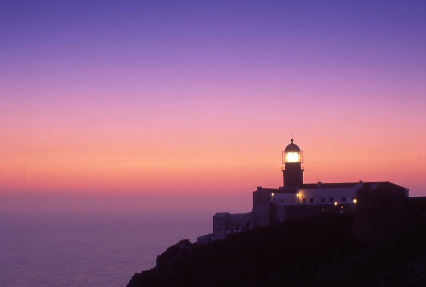 Europe, PRT, Portugal, Algarve, Sagres, Cabo de Sao Vicente, Lighthouse