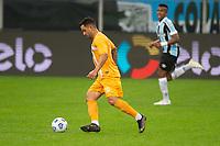 2nd June 2021; Arena do Gremio, Porto Alegre, Brazil; Copa Do Brazil, Gremio versus Brasiliense; Peninha of Brasiliense controls the ball into attack
