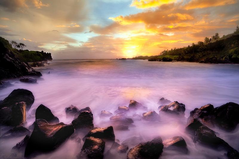 Black Sand Beach (Waianapanapa State Park) Maui, Hawaii
