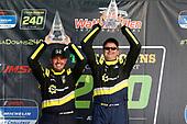 #94: Atlanta Speedwerks Honda Civic FK7 TCR, TCR: Todd Lamb, Ryan Eversley, podium