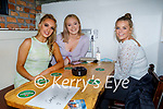 Enjoying the evening in Sean Og's on Sunday, l to r: Carrie O'Connor, Kerry Daly and Sarah Healy.