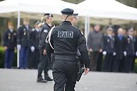 BIEVRES , ETAT MAJOR DU RAID LE 21 / 03 / 2017<br /> PASSATION DE COMMANDEMENT DU RAID , UNITE D ELITE DE LA POLICE NATIONALE .<br /> JEAN BAPTISTE DULION ( PHOTO ) , SUCCEDE A JEAN MICHEL FAUVERGUE . .