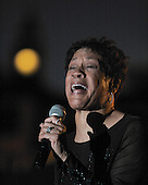 Bettye LaVette sings the blues at the 2007 Marquette Area Blues Fest in Marquette Michigan. 9/2/07.
