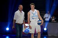 GRONINGEN - Basketbal , Open Dag met Donar - Antwerp Giants , voorbereiding seizoen 2021-2022, 05-09-2021,  Donar speler Kjeld Zuidema