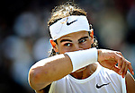 6TH JUL 2008, WIMBLEDON TENNIS CHAMPIONSHIPS, RAFA NADAL MEETS ROGER FEDERER IN THE MENS FINAL, ON CENTRE COURT, ROB CASEY PHOTOGRAPHY.