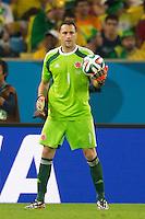 Goalkeeper David Ospina of Columbia