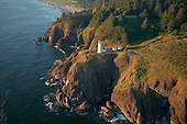 Lighthouse at Cape Dissapointment on Pacific Coast