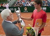 16-8-09, Den Bosch,Nationale Tennis Kampioenschappen, Finale mannen,   Jasper Smit kampioen