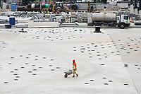 02.09.2020 - Obras no Vale do Anhangabaú em SP