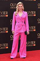 Camilla Kerslake<br /> arriving for the Olivier Awards 2019 at the Royal Albert Hall, London<br /> <br /> ©Ash Knotek  D3492  07/04/2019