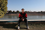 BAGHDAD, IRAQ: Coach Majid Salih...Iraq is fielding a rowing team for the London 2012 Olympics...Photo by Kamaran Najm/Metrography