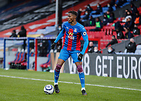 10/13th March 2021; Selhurst Park, London, England; English Premier League Football, Crystal Palace versus West Bromwich Albion; Wilfried Zaha of Crystal Palace