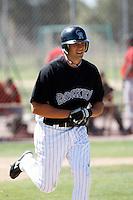 David Christensen - Colorado Rockies - 2009 spring training.Photo by:  Bill Mitchell/Four Seam Images