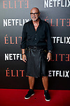 Juan Fernandez attends to 'Elite' premiere at Museo Reina Sofia in Madrid, Spain. October 02, 2018. (ALTERPHOTOS/A. Perez Meca)