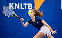 Amstelveen, Netherlands, 14  December, 2020, National Tennis Center, NTC, NK Indoor, National  Indoor Tennis Championships, Qualifying:  Florentine Dekkers (NED) <br /> Photo: Henk Koster/tennisimages.com