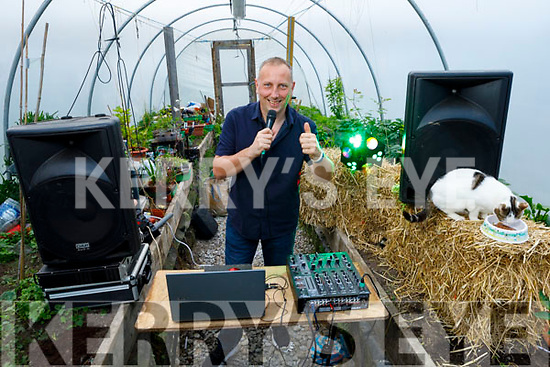 DJ Donal O'Connor from Kilmorna went live at home in his garden for the 'Polytunnel Sessions' over the bank holiday weekend for Pieta House and raised €1,388.