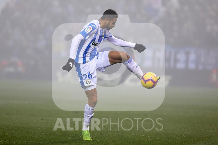 CD Leganes' Youssef En-Nesyri during La Liga match between CD Leganes and Sevilla FC at Butarque Stadium in Leganes, Spain. December 23, 2018. (ALTERPHOTOS/A. Perez Meca)