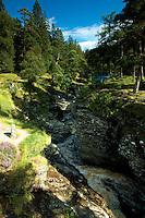 The Linn of Dee and the River Dee, Cairngorm National Park, Aberdeenshire