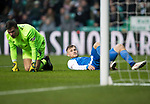 Celtic v St Johnstone…18.02.18…   Celtic Park    SPFL<br />George Williams after missing a chance to score<br />Picture by Graeme Hart. <br />Copyright Perthshire Picture Agency<br />Tel: 01738 623350  Mobile: 07990 594431