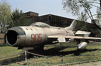 - air museum of Cracovia  (Poland), fighter airplane MIG 19 PM (URSS, 1956)....- museo dell' aeronautica di Cracovia (Polonia), aereo da caccia MIG 19 PM  (URSS, 1956)