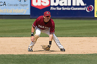 July 6, 2008:  The Yakima Bears' Andrew Fie playing third base during a Northwest League game against the Everett AquaSox at Everett Memorial Stadium in Everett, Washington.