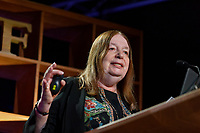 Pictured: Alison Weir. Friday 31 May 2019<br /> Re: Hay Festival, Hay on Wye, Wales, UK.