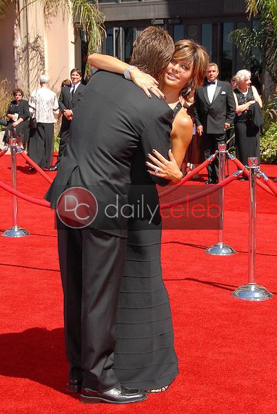 Lisa Rinna and Harry Hamlin<br />arriving at the 58th Annual Primetime Emmy Awards. The Shrine Auditorium, Los Angeles, CA. 08-27-06<br />Scott Kirkland/DailyCeleb.com 818-249-4998