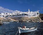 Spanien, Balearen, Menorca, Binibequer Vell: Nachbau eines Fischerdorfs - Touristenattraktion | Spain, Balearic Islands, Menorca, Binibequer Vell: copy of a traditional fishing village