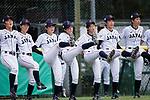 Japan players celebrating during the BFA Women's Baseball Asian Cup match between Japan and Hong Kong at Sai Tso Wan Recreation Ground on September 5, 2017 in Hong Kong. Photo by Marcio Rodrigo Machado / Power Sport Images